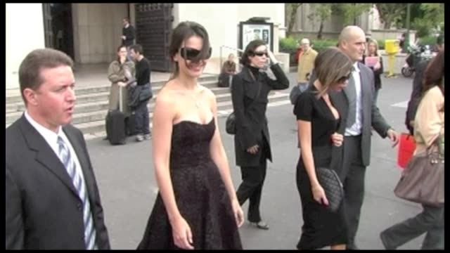 they are going to have lunch at the cafe de l'homme on the trocadero after their lunch they both get back at their hotel in the same car according... - katie holmes stock videos and b-roll footage