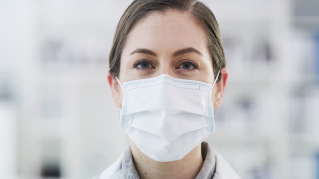 they don't call me the expert for nothing - surgical mask stock videos & royalty-free footage