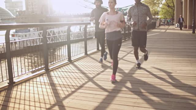 Ze houden van elkaar joggen