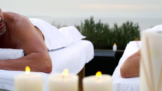 vídeos de stock e filmes b-roll de they needed this - massagem