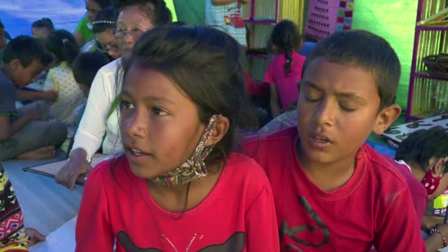 They survived but many children in Nepal must now learn to live with the traumatic memories of the earthquake