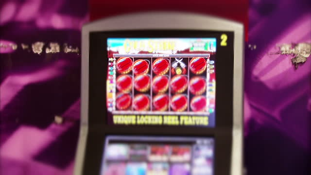they've been dubbed the crackcocaine of gambling betting machines that allow punters to spend up to 100 pounds every twenty seconds antigambling... - fruit machine stock videos & royalty-free footage