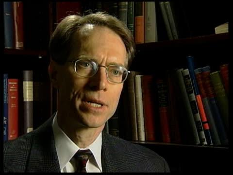 thielmann interview sot - weapons of mass destruction stock videos & royalty-free footage