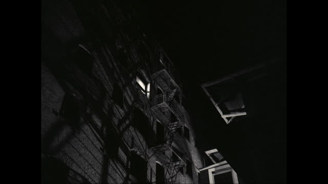 ms thieves running down fire escape / united states - fire escape stock videos and b-roll footage