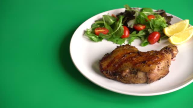 thigh chicken steak