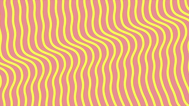 vídeos de stock, filmes e b-roll de linhas finas 4k acenando em movimento, linhas planas 3d em segundo plano, dados abstratos fluindo em uma rede, linhas geométricas curvas fundo de movimento de movimento de tecnologia - meio tom