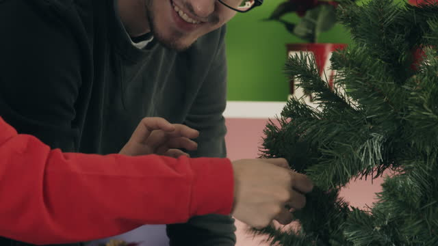 i think this is a little too tight. - christmas tree stock videos & royalty-free footage