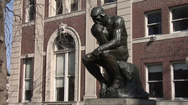 MS Thinker Statue / New York, United States