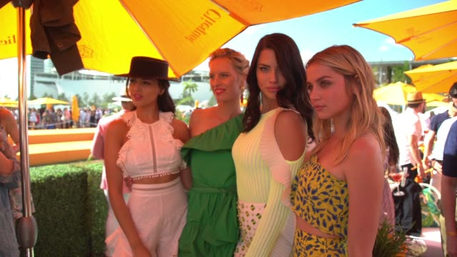 CHYRON Third Annual Veuve Clicquot Carnaval at Museum Park on March 4 2017 in Miami Florida