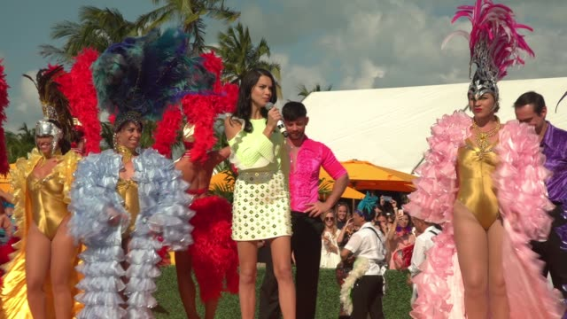 VIP ATMOSPHERE Third Annual Veuve Clicquot Carnaval at Museum Park on March 4 2017 in Miami Florida