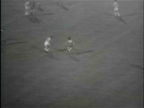 vídeos de stock, filmes e b-roll de third european cup for ajax in the stadium of belgrade: ajax- juventus / belgrade, yugoslavia - 1973