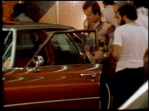 third generation buick lesabre at dealership on january 01 1973 in new york new york - general motors stock videos & royalty-free footage