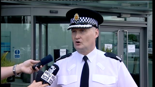 third patient dies after contamination of saline solution assistant chief constable terry sweeney to mikes and speaking to press sot talks of where... - saline drip stock videos and b-roll footage