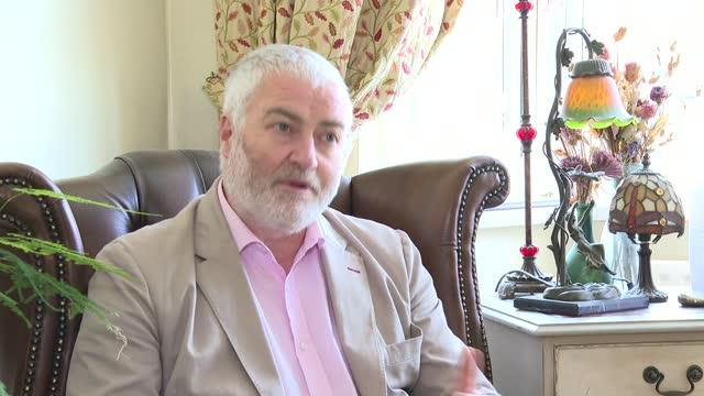 third russian gru agent accused of involvement in salisbury novichok poisoning; england: int philip ingram interview sot. - defendant stock videos & royalty-free footage