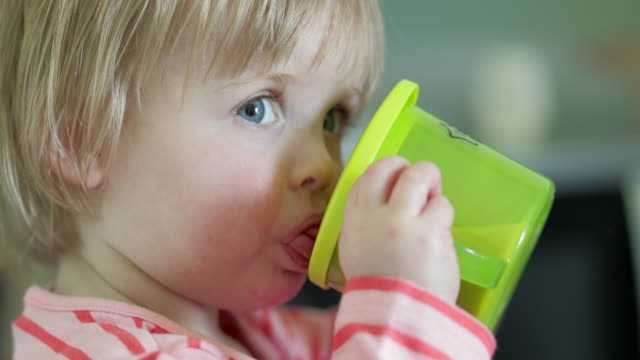 thirsty baby - baby stock videos & royalty-free footage