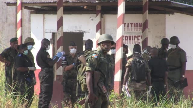 thirteen decomposing corpses have been discovered in a camp housing exrebels in the strifetorn central african republic a prosecutor told afp on... - prosecutor stock videos & royalty-free footage
