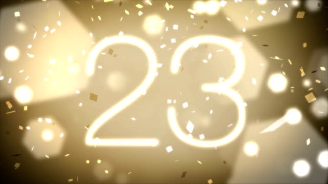 Thirty Second Countdown with Confetti