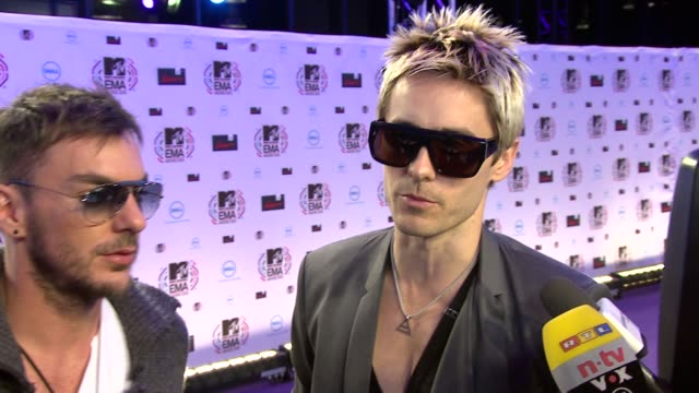 Thirty Seconds to Mars Jared Leto