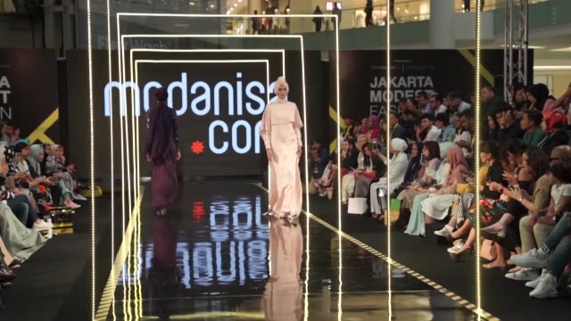 Thirty Turkish designs take podium during Fashion Week in Indonesian capital Jakarta on July 27 2018