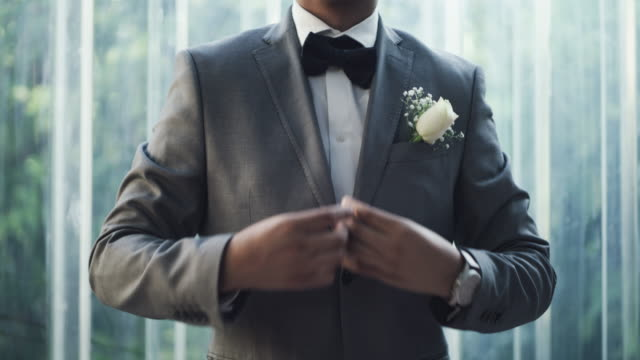 this bowtie is what brings the whole outfit together - metrosexual stock videos & royalty-free footage