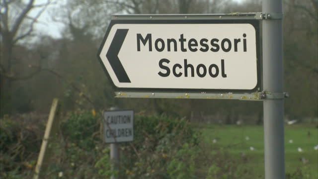 This clip contains black gaps third party content removed VOICED Staff at a small Montessori Nursery School in Norfolk say they're looking forward to...