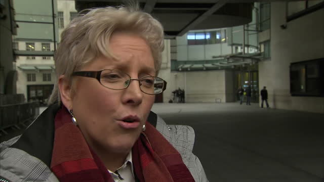 This clip contains black gaps third party content removed VOICED It's not about the money it's about equality The BBC journalist Carrie Gracie said...
