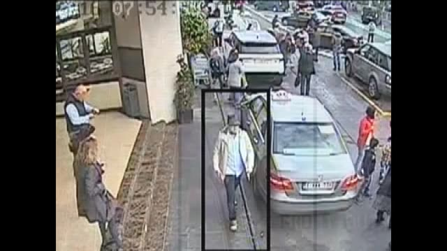 this footage released by the belgian federal police on april 07 2016 shows the third suspect from the brussels airport attack during his escape from... - terrorismus stock-videos und b-roll-filmmaterial