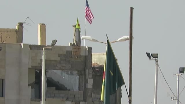 this footage taken from turkey's sanliurfa province on september 19 2016 shows that an american flag seen on top of custom house building under the... - september stock videos and b-roll footage