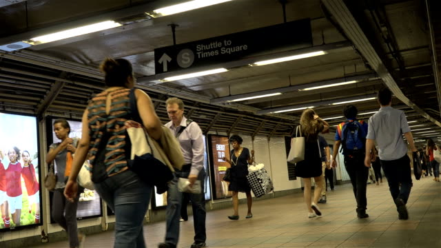 """This Grand Central Station walk path connects commuters to Shuttle Subway """"S"""" / Subway lines here include the 4 6 7 and S / Midtown Manhattan 42nd..."""