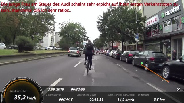 this happens almost every day in berlin during their ride to work and back. intense! - weitere themen stock-videos und b-roll-filmmaterial