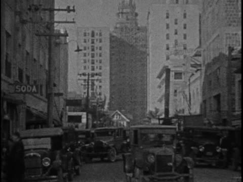 this home movie from texas oilman eb hopkins captures scenes of a family vacation to miami florida in 1925 these clips depict various classic cars... - southwest florida stock videos & royalty-free footage