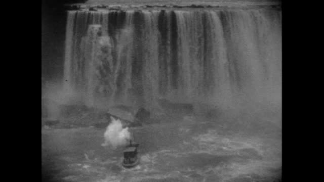 vídeos y material grabado en eventos de stock de this home movie from texas oilman eb hopkins captures scenes of a family vacation to niagara falls - cataratas del niágara