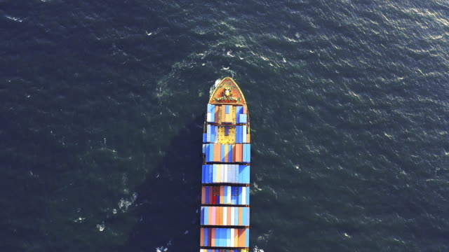 this how your good are transported across the ocean - container stock videos & royalty-free footage