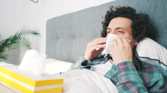 this is flu for sure! - coughing stock videos & royalty-free footage