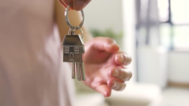 this is for you new house keys - tenant stock videos & royalty-free footage