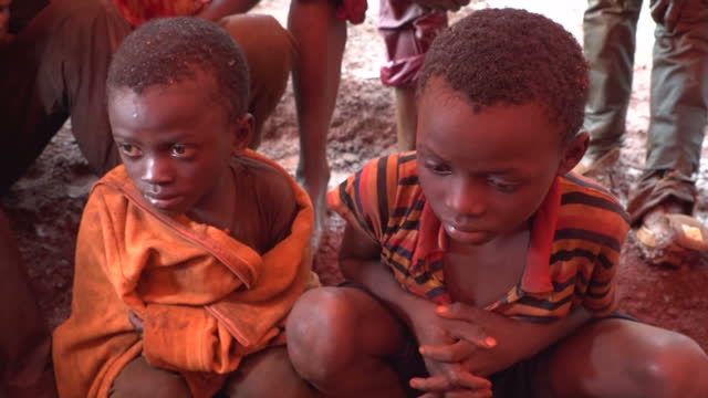 this is part one of a two part report. voiced: a sky news investigation has found children as young as four working in appalling conditions in cobalt... - mining natural resources stock videos & royalty-free footage