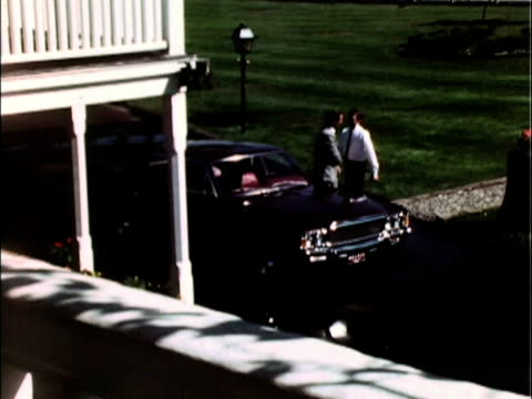 This promotional video for the 1971 Ambassador sedan shows the car pulling up to the club A middleage executive gets out A valet greets him and grabs...