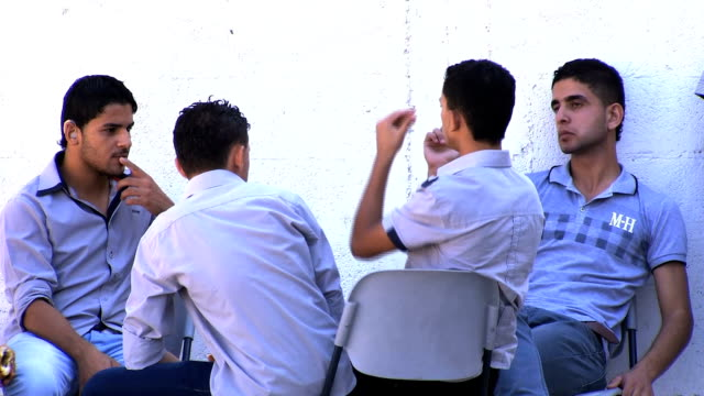 this report focus on how the deaf and dumb studying in gaza school palestine gaza deaf and dumb school on september 24 2013 in gaza city palestine - deafness stock videos & royalty-free footage