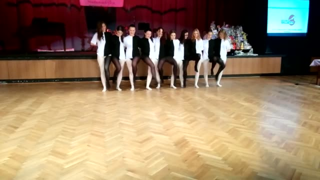 this video shows a group of students performing an act that contains a very interesting optical illusion. once you start watching, you cannot look... - optical illusion stock videos & royalty-free footage
