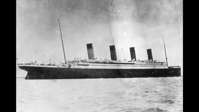 vidéos et rushes de this week in history 4/5 - 4/11 - titanic