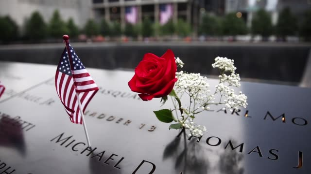 vidéos et rushes de this year marks the 13th anniversary of the september 11th terrorist attacks that killed nearly 3,000 people at the world trade center, pentagon and... - attentat du 11 septembre 2001