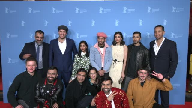 thomas benski , anjana vasan, nabhaan rizwan, aiysha hart, riz ahmed, bennett mcgee and hussain manawer , alyy khan, sudha bhuchar, bassam tariq... - film festival stock videos & royalty-free footage