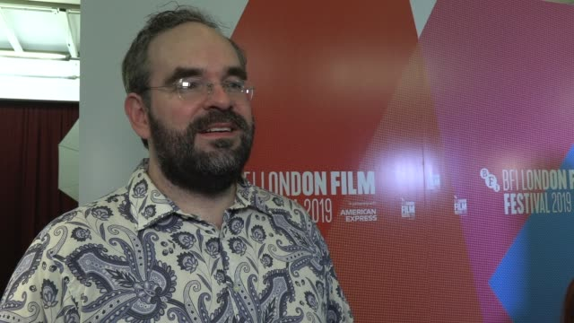 thomas clay on filming on a farm the casting process and chemistry on set on october 10 2019 in london england - the times bfi london film festival stock videos & royalty-free footage