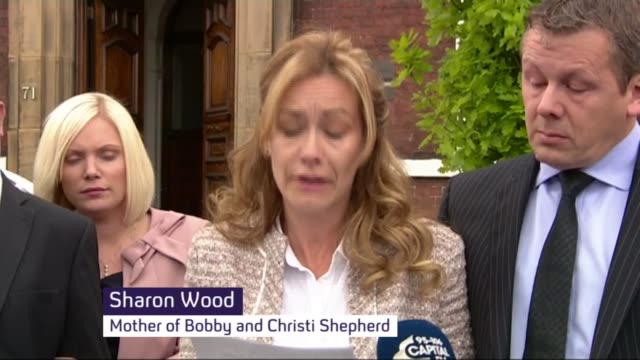 thomas cook carbon monoxide deaths inquest verdict england west yorkshire wakefield photography*** sharon wood press conference sot - shepherd stock videos & royalty-free footage