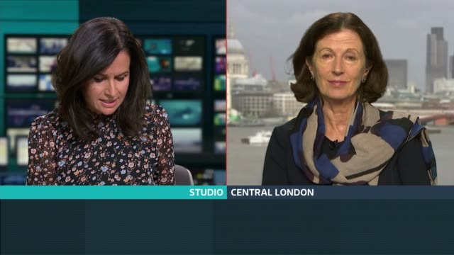 customer refund website crashes england london gir int deirdre hutton live 2way interview from central london sot - collapsing stock videos and b-roll footage