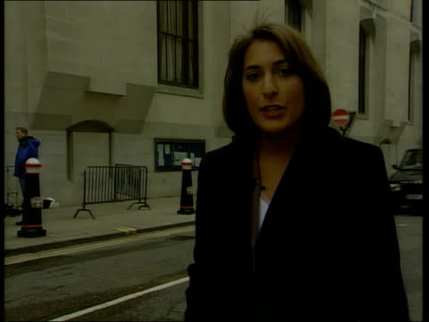 stockvideo's en b-roll-footage met jane andrews breaks down dc5f england london old bailey ext i/c - crime and murder