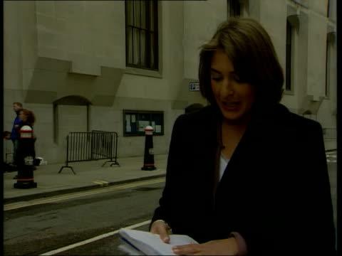 stockvideo's en b-roll-footage met jane andrews breaks down england london old bailey ext i/c - crime and murder