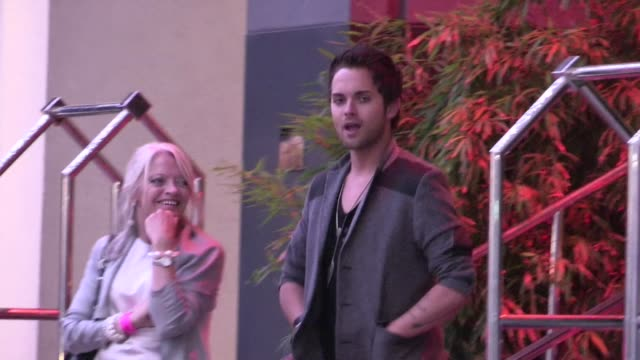 thomas dekker at american idol season 11 grand finale after party at w hotel in los angeles 05/23/12 - american idol stock videos and b-roll footage