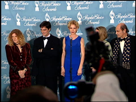 thomas gibson at the 1998 people's choice awards arrivals and press room at barker hanger in santa monica, california on january 11, 1998. - thomas gibson stock videos & royalty-free footage