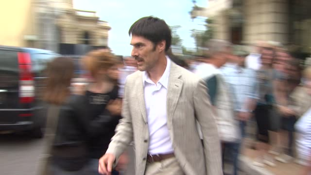thomas gibson departs from the 51st monte-carlo television festival in monte-carlo 06/06/11 - thomas gibson stock videos & royalty-free footage
